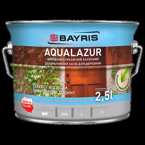 Aqualazur швидковисихаюча БАЙРІС тік 2,5 л, фото 2