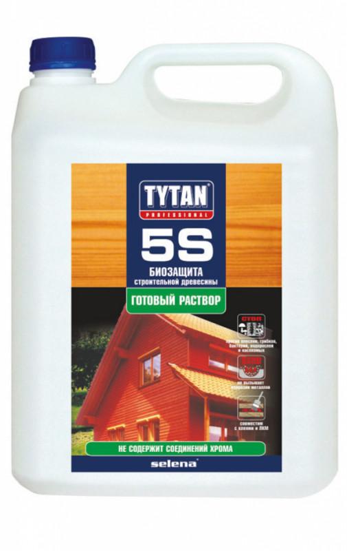 Біозахист 5S готовий розчин прозорий TYTAN 5л