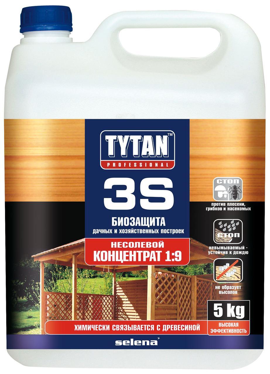 Біозахист 3S концентрат 1:9 зелений TYTAN 1 кг   /6шт/