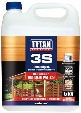 Біозахист 3S концентрат 1:9 зелений TYTAN 1 кг   /6шт/, фото 2
