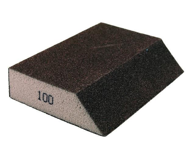 Брусок шліфувальний гострокутний 220 KLO1077 PAINTER   /100шт/, фото 2