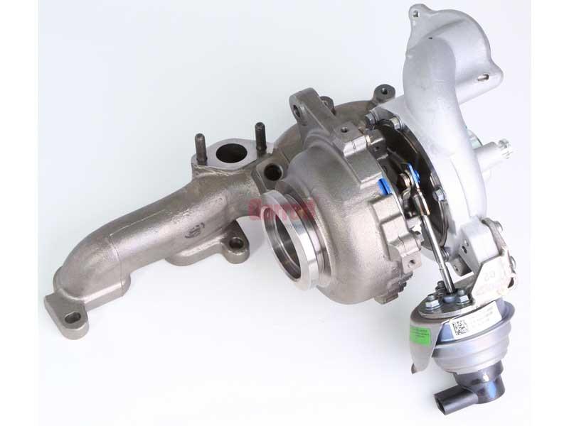 Турбина 775517-5001S (Volkswagen Jetta V 1.6 TDI CAYC) 03L253016T