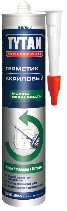 Герметик акриловий TYTAN білий 310 мл   /12шт/