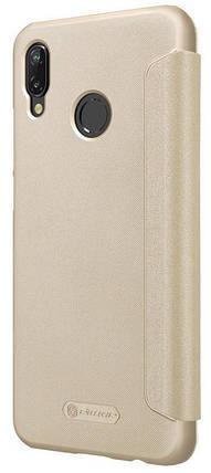 Чехол-книжка Huawei P20 Lite gold Nilkin, фото 2