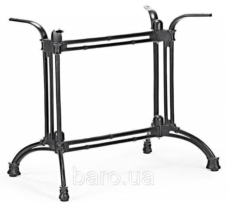 Опора для стола Double-Ray (Дабл Рэй) Concepto, 72см черная, Concepto