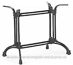Опора для стола Double-Ray (Дабл Рэй) Concepto, 72см черная