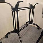 Опора для стола Double-Ray (Дабл Рэй) Concepto, 72см черная, Concepto, фото 2
