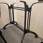 Опора для стола Double-Ray (Дабл Рэй) Concepto, 72см черная, Concepto, фото 3