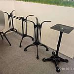 Опора для стола Double-Ray (Дабл Рэй) Concepto, 72см черная, Concepto, фото 5