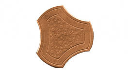 """Тротуарная плитка """"Бикини"""" 40 мм (желтый, коричневый), вибролитая"""