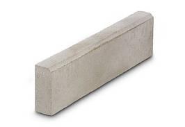 Бордюр, 100*20*8 см, серый