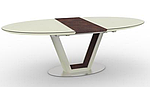 Стол обеденный DENVER (140/180)*95*76 cm) крем/венге, Nicolas, фото 2