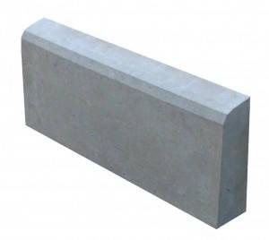 Поребрик 50*20*6,5 см, серый, фото 2