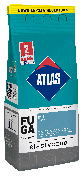Затирка Elastyczna (1-7 мм) ATLAS 018 пастельна 2 кг   /10шт/