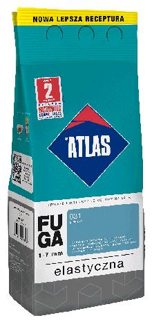 Затирка Elastyczna (1-7 мм) ATLAS 036 темно-сіра 2 кг   /10шт/, фото 2