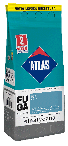 Затирка Elastyczna (1-7 мм) ATLAS 123 яскраво-коричнева 2 кг   /10шт/, фото 2