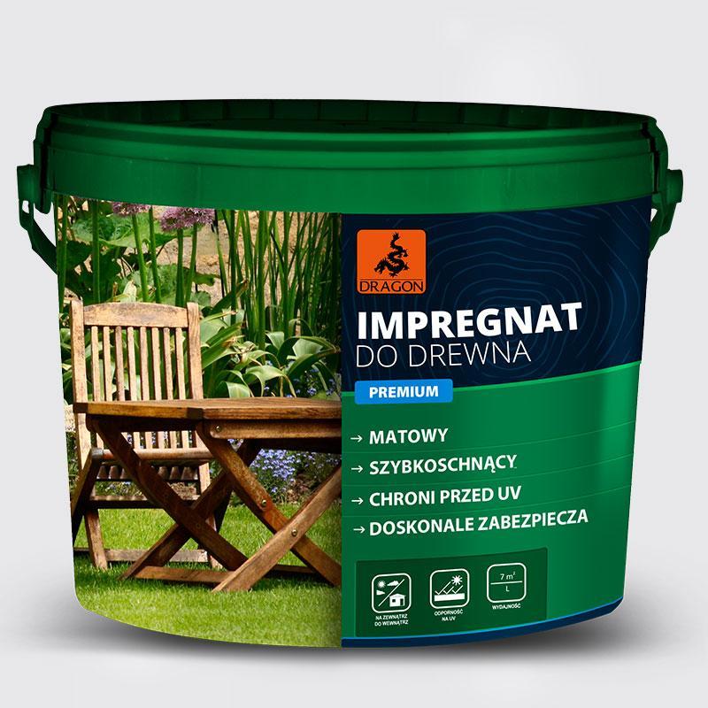 Імпрегнат для дерева Premium DRAGON сосна натуральна 1 л   /4шт/