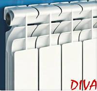 Радиатор отопления алюминиевый DIVA 96 мм (секция)