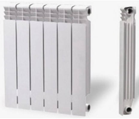 Алюминиевые радиаторы отопления Mirado 96 - 205 Вт, фото 2