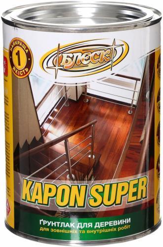 Лак НЦ-022 Kapon Super БЛЄСК 2,4 кг   /4шт/