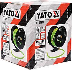 Шланг пневматический 9,5мм 15м YATO YT-24241, фото 2