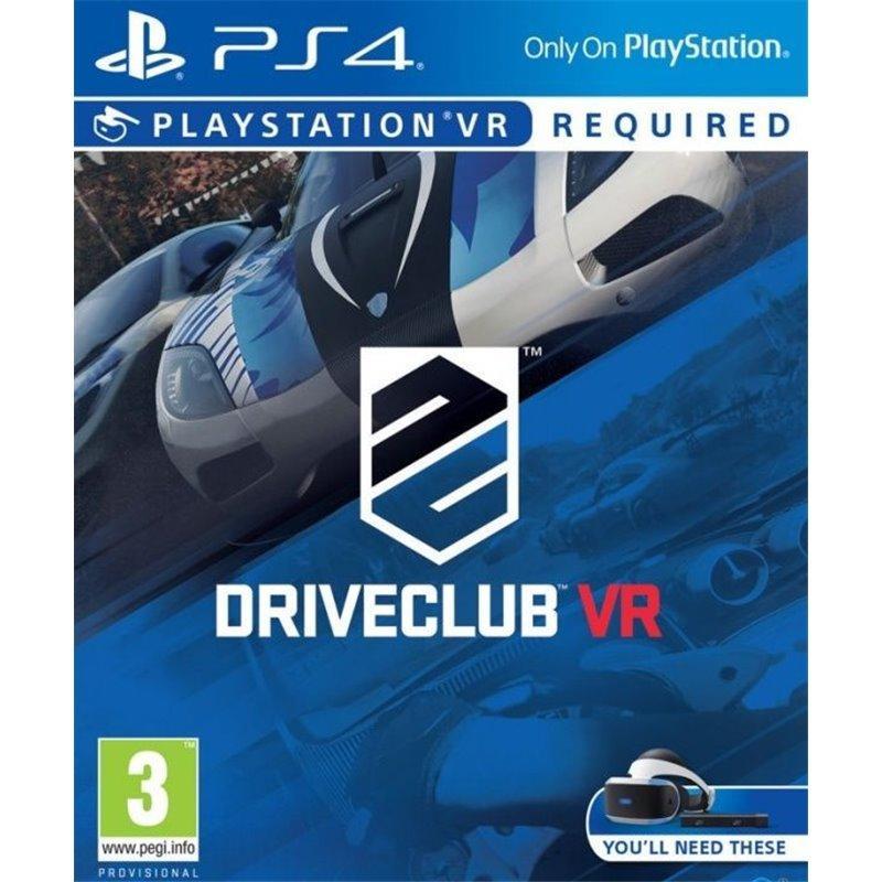 Игра DriveClub VR для PlayStation VR (русская версия)