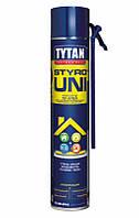 Піна-клей для пінополістеролу ручна Styro Uni 753 STD TYTAN 750 мл   /12шт/