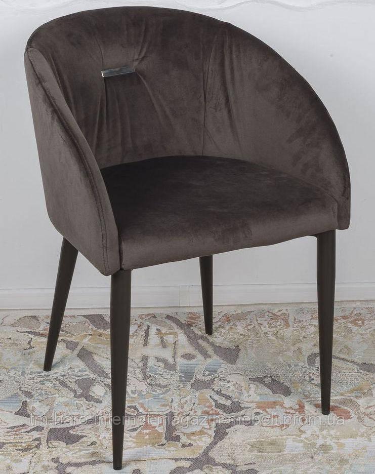 Кресло ELBE (58*59*75 cm текстиль) антрацит, Nicolas
