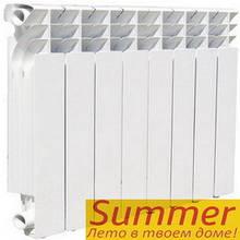 Биметаллический радиатор Summer 500/76 (секция)