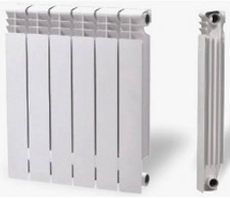 Радиатор отопления алюминиевый Элеганс 96 мм (секция), фото 2