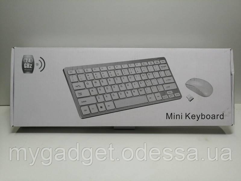 Беспроводный комплект клавиатура и мышка Mini Keyboard
