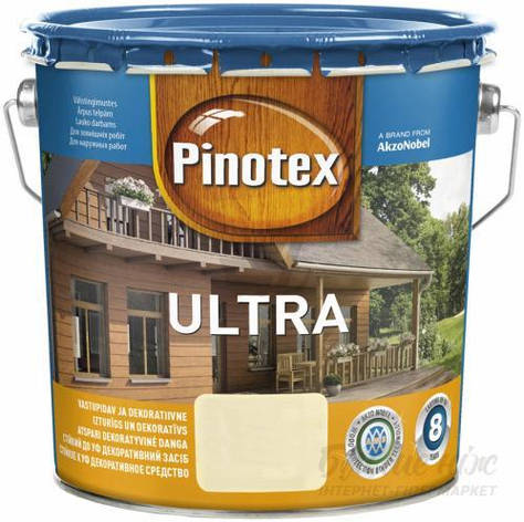 Фарба Ultra PINOTEX горіх 3 л, фото 2