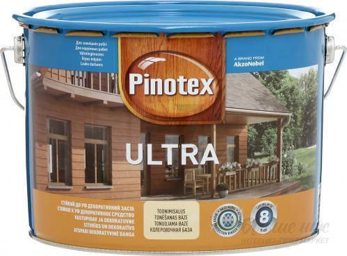 Фарба Ultra PINOTEX тік 10 л, фото 2