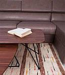 Стол журнальный LYON b (120*50*47*1.8) орех, Nicolas, фото 4