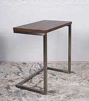 Стол приставной-консоль York (Йорк), орех (Бесплатная доставка), Nicolas