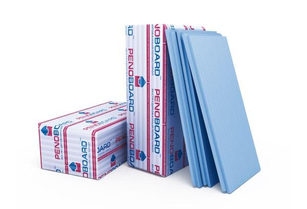 Пенополистирол экструдированный PENOBOARD, 50мм, 1,25х0,6м (1 лист)