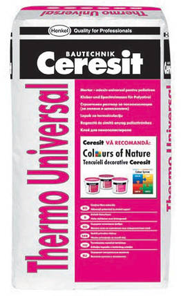 Клей для пенопласта Ceresit Thermo Universal, фото 2