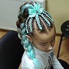 🍃 Канекалон однотонный нежно мятный, коса 🍃, фото 6