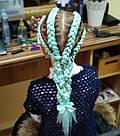 🍃 Канекалон однотонный нежно мятный, коса 🍃, фото 8