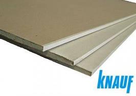 Гипсокартон влагостойкий Knauf 3*1,2*12,5 мм (лист)