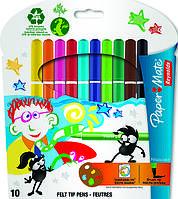 Pinsocolor Фломастеры акварельные набор 10 шт Paper Mate