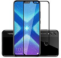 Премиум 5D стекло для Huawei Honor 8X / дважды закаленное и полный клей / Есть чехлы /, фото 1