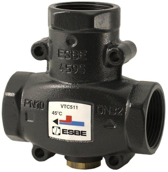 """Трехходовой термостатический клапан ESBE VTC 511 1 1/4"""""""