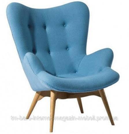 Кресло Флорино голубой, бук