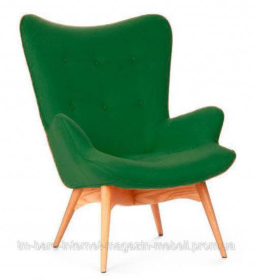 Кресло Флорино зеленый, бук