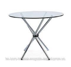 Стол стеклянный Тог, d90