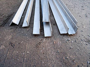 Профиль алюминиевый уголок 50 х 50 х 3 мм АД31 равносторонний 6060 Т6, фото 2