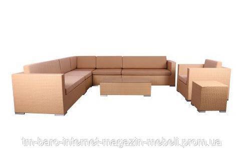 Комплект мебели Puerto из ротанга Elit (SC-B6017) песочный, (Бесплатная доставка)