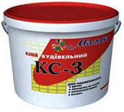 Клей строительный КС-3 Мальва, 15 кг