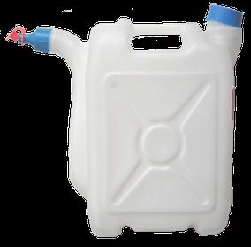 Канистра с носиком 10 литров, пластиковая